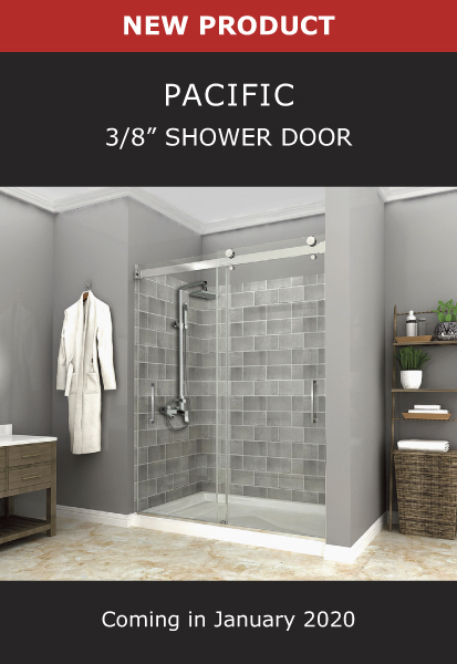 New Product Pacific 3/8 Inch Shower Door Image