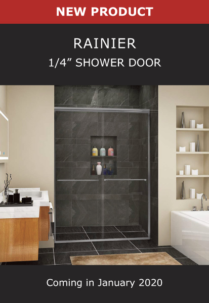 New Product Rainier 1/4 Inch Shower Door Image